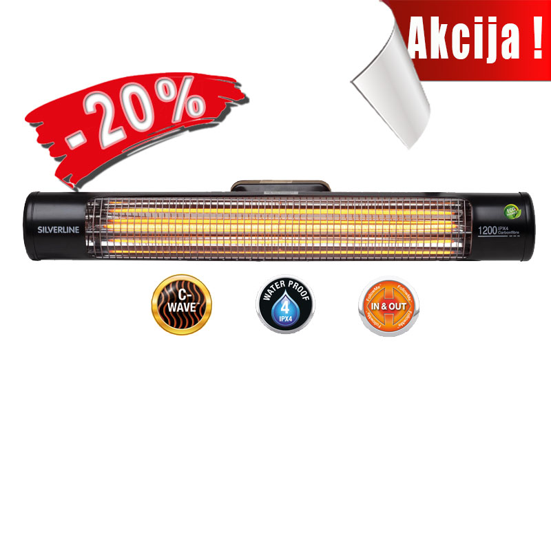 Patio Heater 1200 Wall IPX4™
